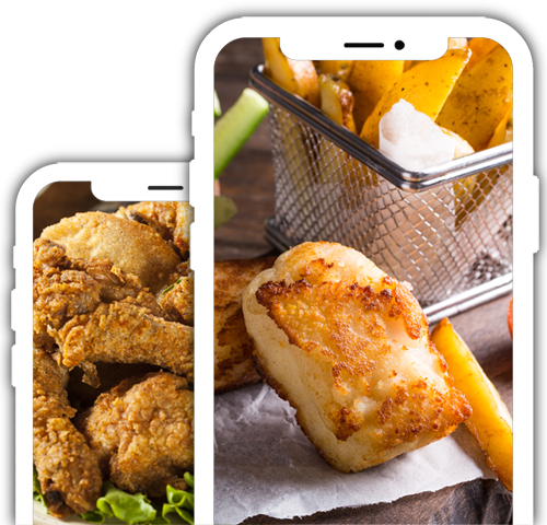 Takeaways App Smartphone