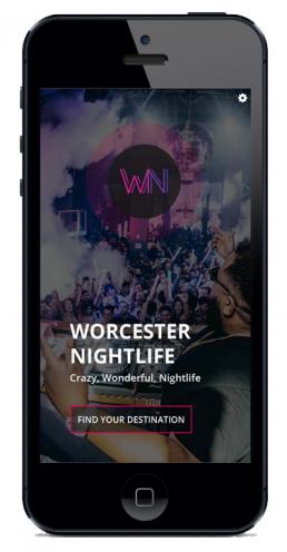Smart Phone Nightlife App