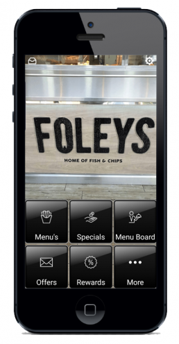 Smart Phone Restaurant App
